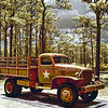 Army 1 1/2 Ton Cargo Truck at Camp Blanding