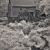 Old Mill of Guilford in Infrared