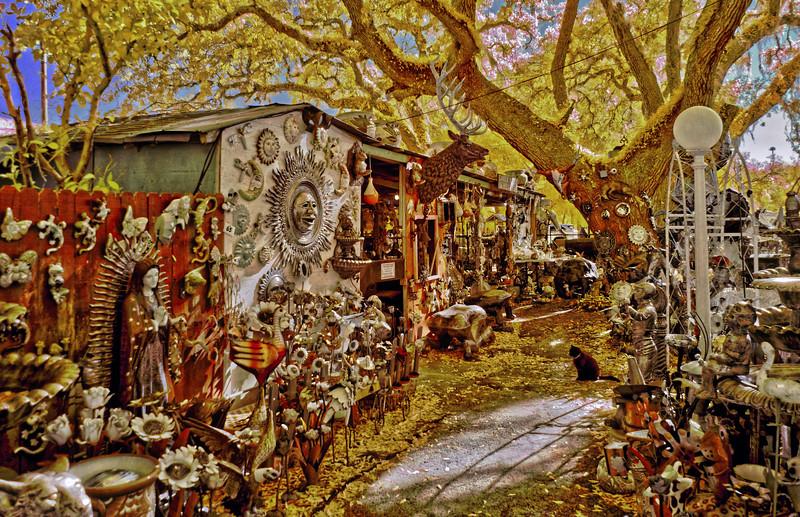 Barberville Roadside Yard Art