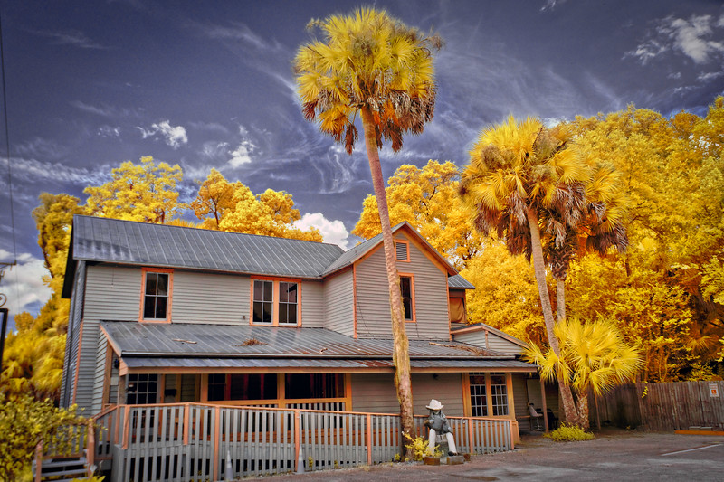 Melrose Florida Home in Infrared