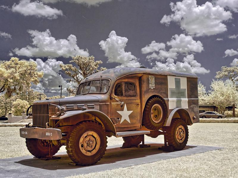 Army Ambulance at Camp Blanding