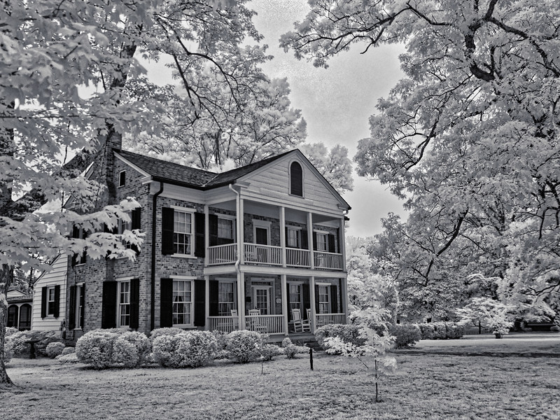 Kernersville Home in Infrared