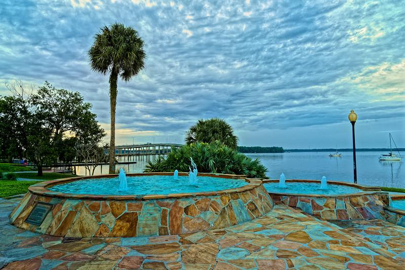 Palatka, Florida, Riverfront Fountains