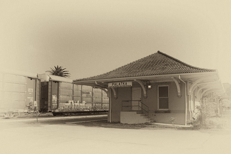 Palatka train station