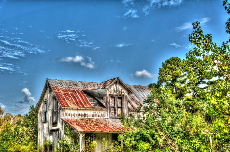 Old farmhouse in Lawtey