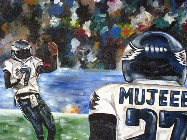 Eagles Football-SOLD