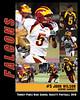 senior poster, football