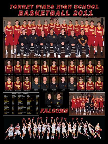 TPHS Varsity basketball 2011