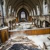 St. Anges ,Detroit, church ,urban decay,ruins, abandon,