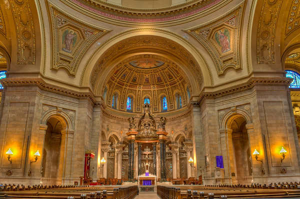 Interior of Cathedral of St. Paul