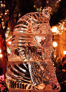 St. Paul Winter Carnival Ice Sculpture 2