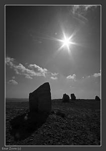Sentinel near Mizpe Ramon, southern Israel
