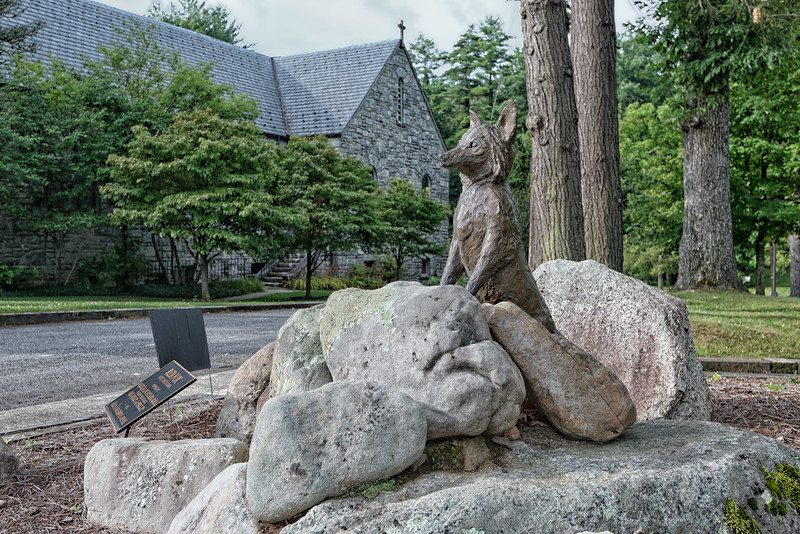 Red Fox sculpture by Christine Kosiba