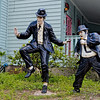 Melrose Blues Brothers Statues