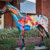 "Horse Fever statue, ""Champ"""