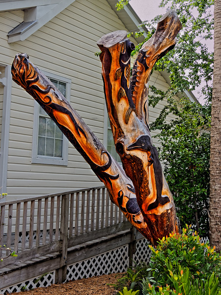 Tree Trunk Art