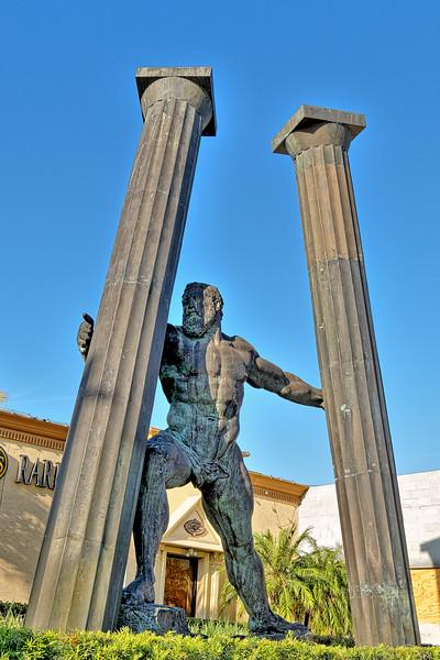 Bronze Hercules, Clearwater, Florida
