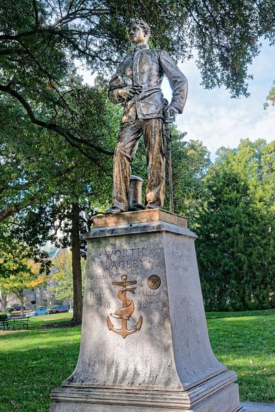 Worth Bagley Statue