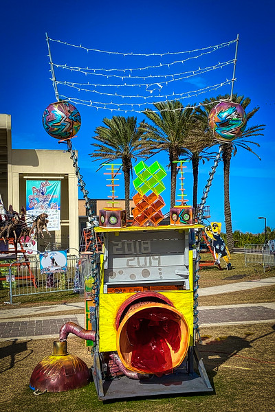 Deck the Chairs at Jacksonville Beach, Florida