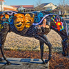 "Horse Fever statue ""Inspiration""  by Mary Verrandeaux"