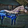"""Morning Colors"" Ocala Horse Fever statue"