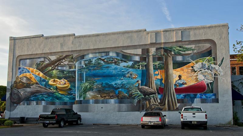 Ichetucknee River Mural in Lake City