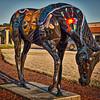 "Horse Fever statue ""Inspiration"""