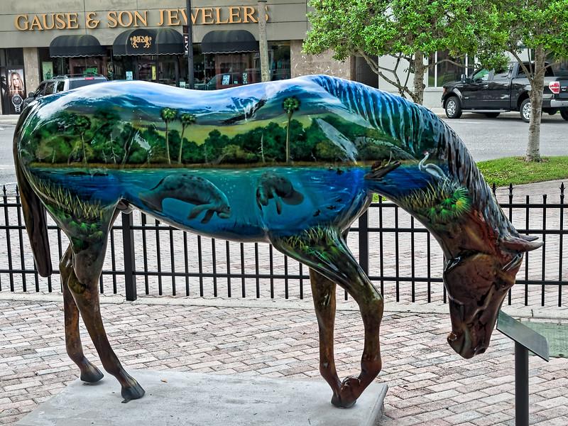 Horse Fever Art in Ocala Florida