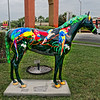 """Parrot~dise"" Ocala Horse Fever Statue"