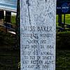 "Monument Honoring ""Miss Baker"" Squirrel Monkey"