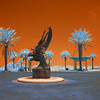Sea Express statue Oceanfront Park