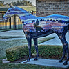 """Morning Colors"" Ocala, Florida, Horse Fever statue"