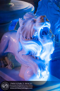 White Lion Fountain at Orinda Theater Square. Friday, April 5, 2013 at 8:36 PM. 5 second exposure at f/8.0, ISO 100, 90mm.