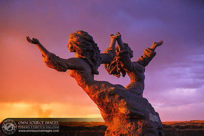 Salutations to the Sun. Twin Falls, Idaho