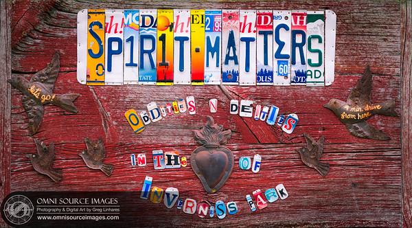 Spirit Matters - Public Art - Point Reyes Station, CA