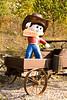 """Howdy Cowboy"" Statue in Wagon, Richland County, Wisconsin"