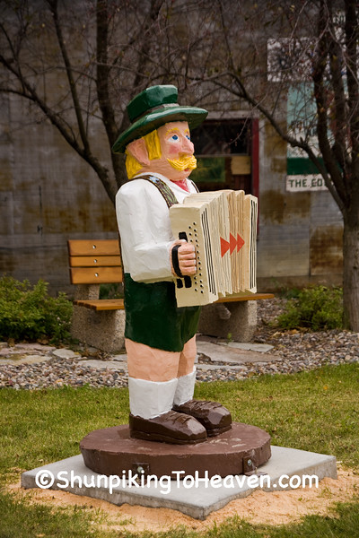 Accordionist Statue, Filmore County, Minnesota