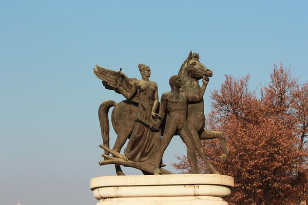 Italy, Verona, Statue