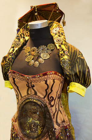 steampunk dress 7591