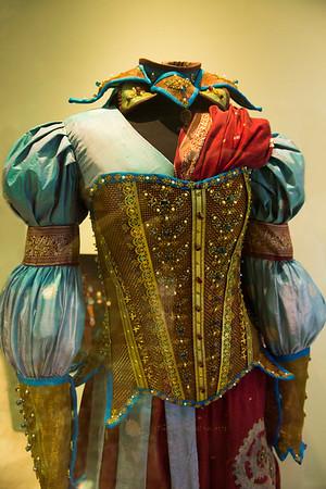Steampunk dress color 7583