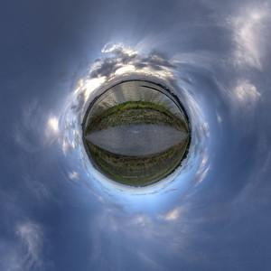 Planet Lake Sunset