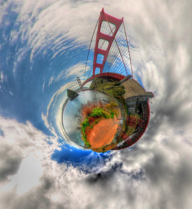 Golden Gate Planet Marin Side