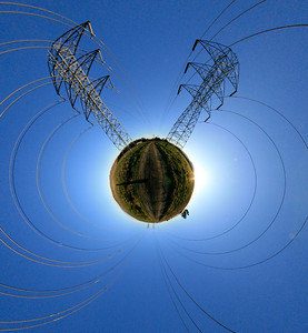 Planet Power Lines