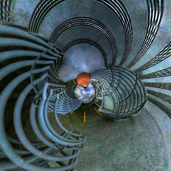 Hallucinogenic Stairwell