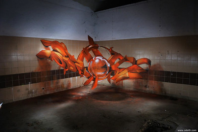 Artista Portugués Crea Graffittis En 3D Que Flotar En El Aire