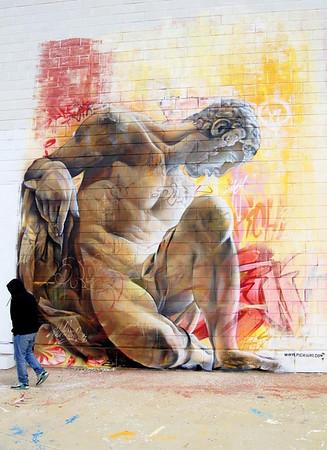Spanish street art duo Pichi&Avo