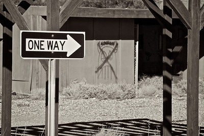 One Way to Satan  Photo by Stephanie Roberts, http://ObsessiveHobbyist.com