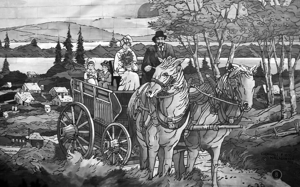 Horse Drawn Wagon - Chemainus BC