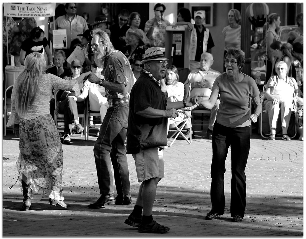 Dancers - Taos New Mexico