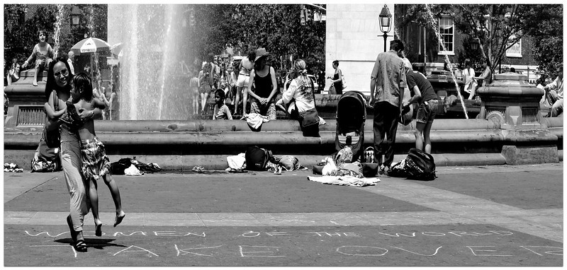 WOMEN OF THE WORLD TAKE OVER - Washington Square NYC